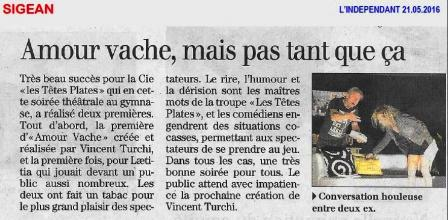 Article vache a sigean 1